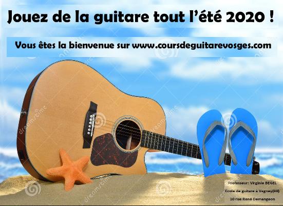 Jouez-de guitare été 2020